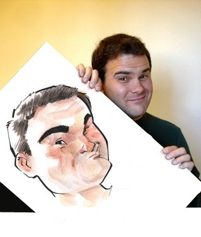 A caricature of Chris