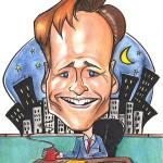 Conan O'Brian caricature