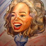 caricature of Oprah