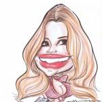 Jessica Simpson Caricature